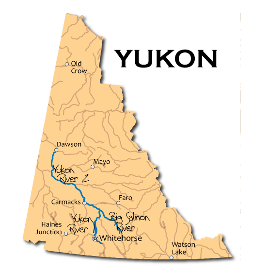 River Mapbooks in Yukon Territory